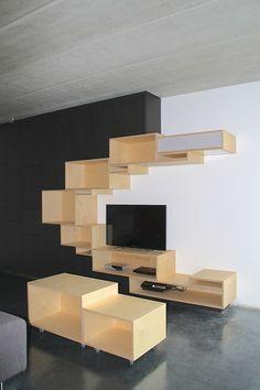 Decor Room, Home Decor, Display Cabinets, Tv Furniture, Shelving Ideas,  Shelves, Tv Units, Wooden Walls, Wall Design