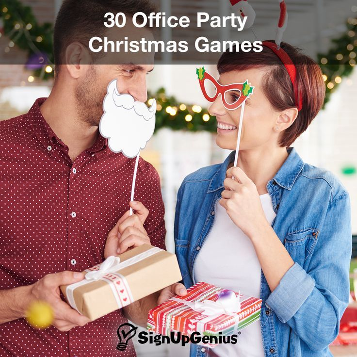 30 Office Christmas Party Games Spread cheer at your work party