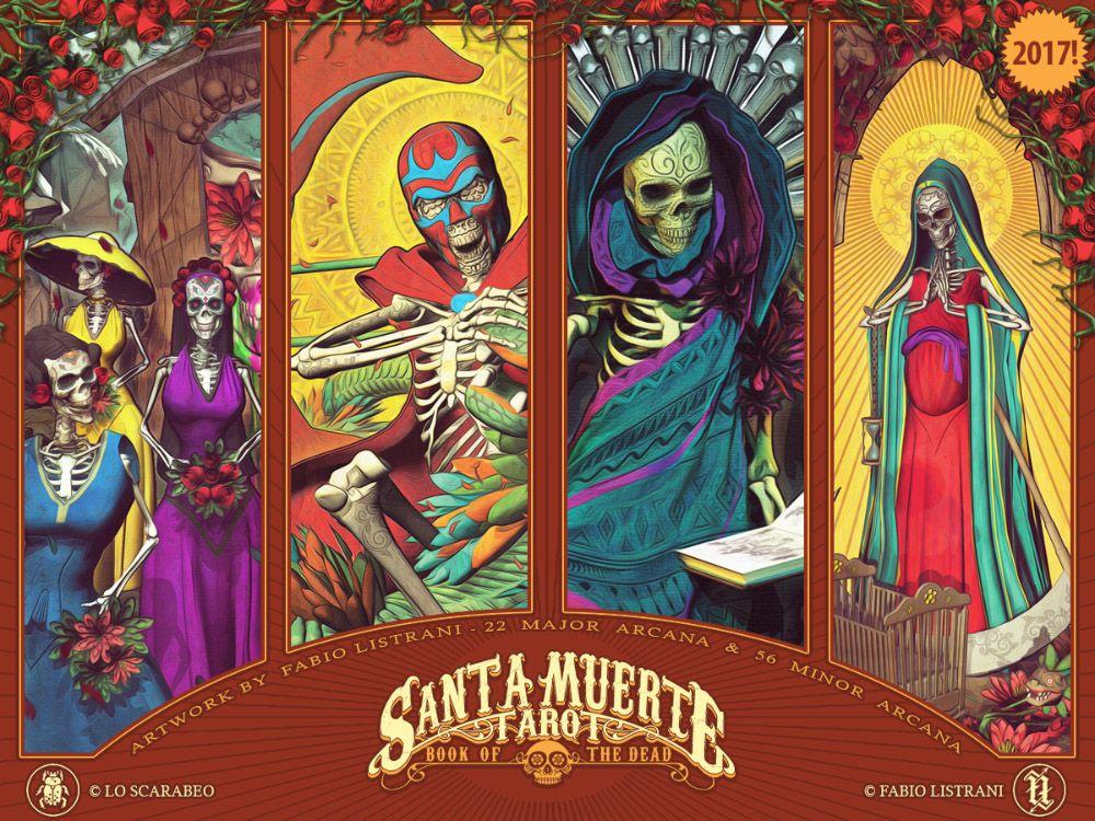 12+ Santa muerte tarot booklet pdf information