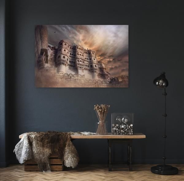 Photo of Metal Print Art _ Mehrangarh Fort