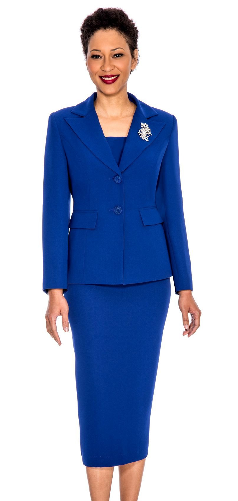 Giovanna Church Suit 0710 Royal Blue In 2018 Products Pinterest