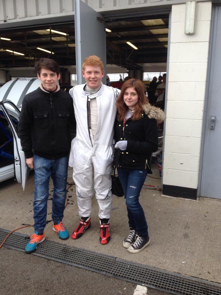 First Race @ Silverstone