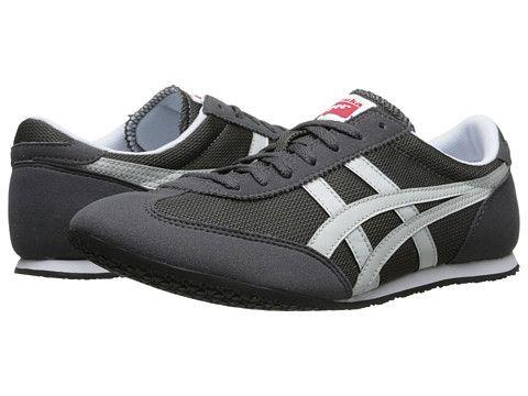 Original Product -  Women Onitsuka Tiger Asics Machu Racer Dark Grey Light Grey dc shoes