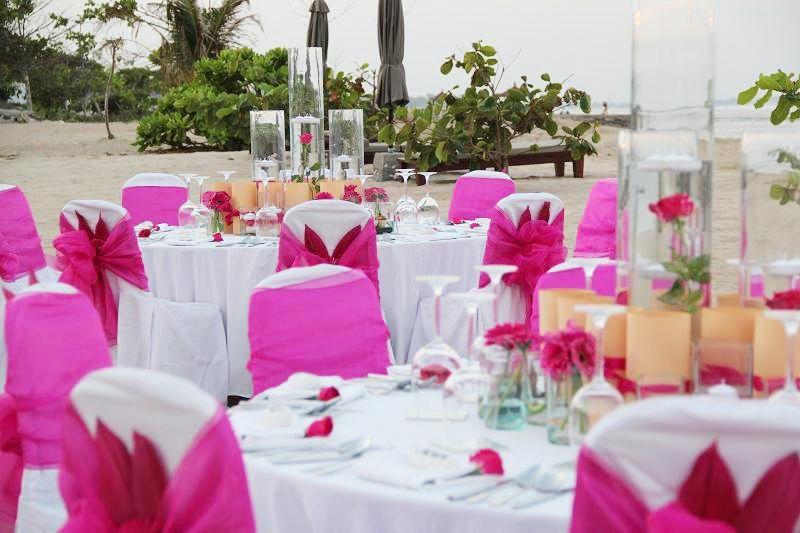 Kayumanis Nusa Dua Wedding Reception Dinner Bali Wedding Organizer