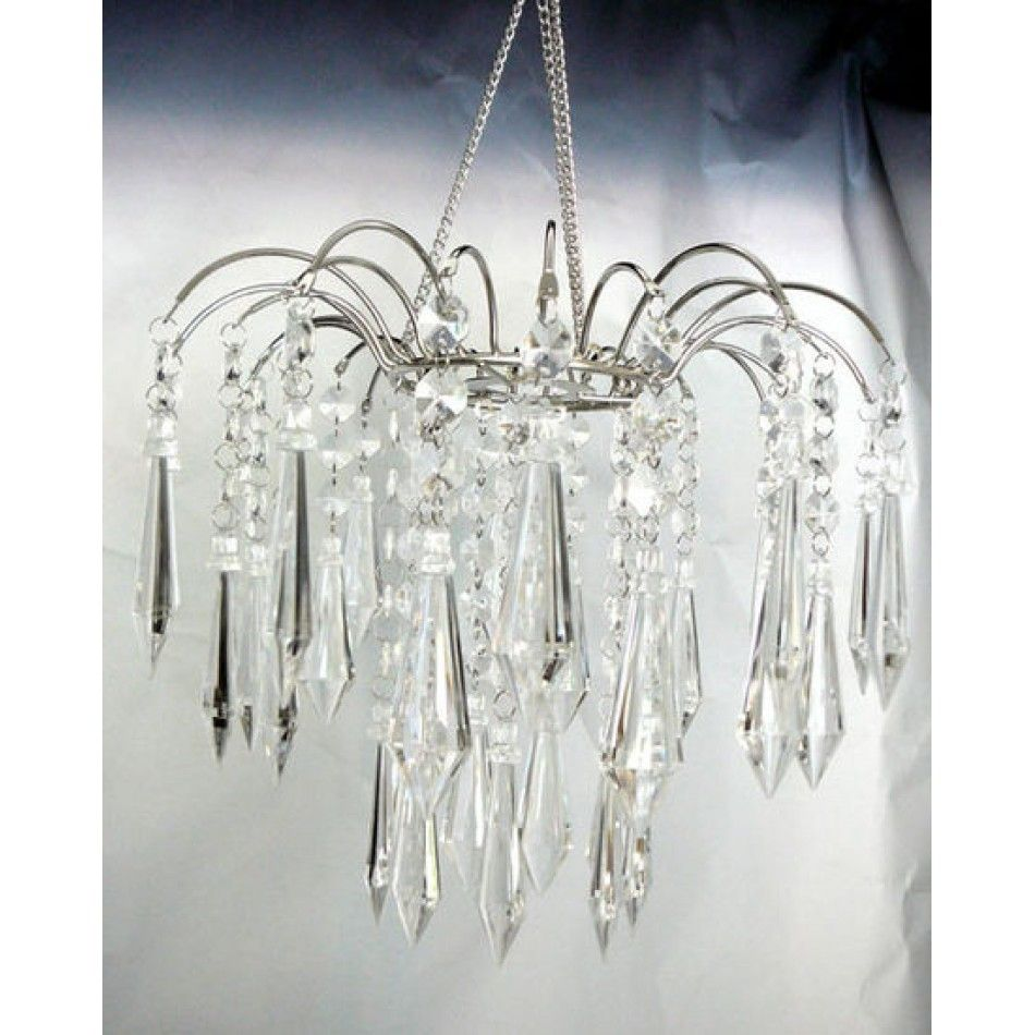 Teardrop Crystal Fountain Chandelier Wholesale Wedding Supplies Discount Favors Party And Bulk Event