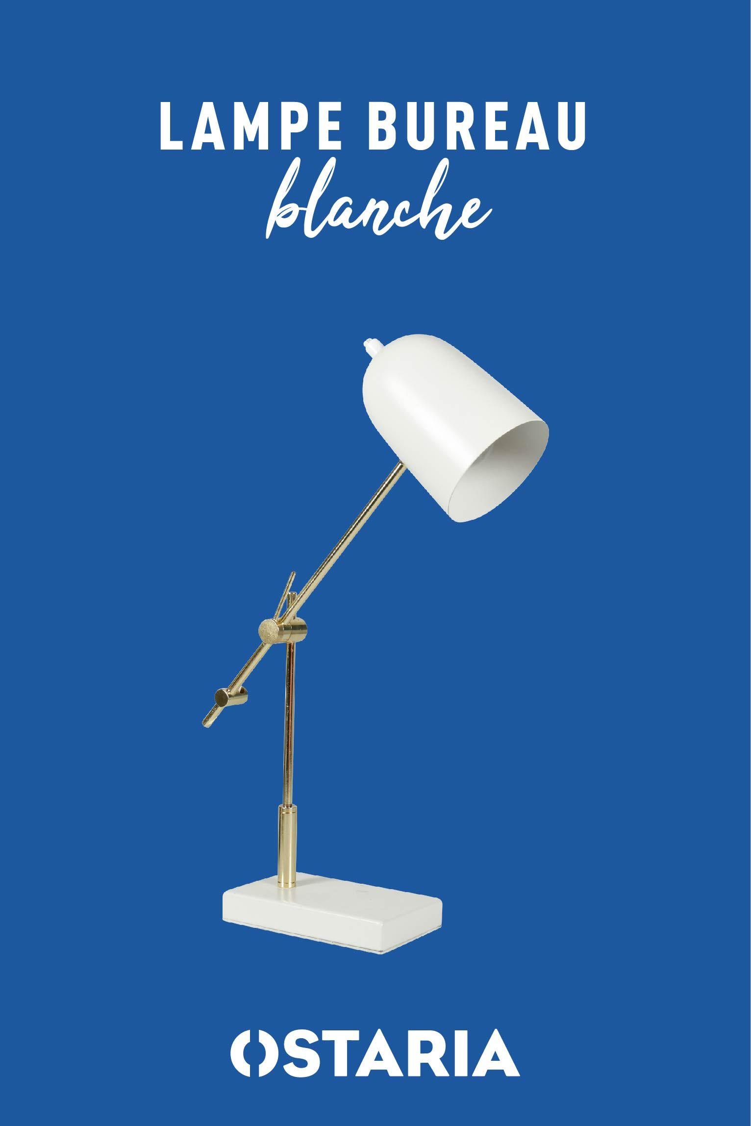 Idee Par Ostaria Home Design Sur Nos Produits Ostaria Lampe De Bureau Bureau Blanc Lamp