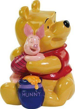 Disney Cookie Jars Amazon Com >> Winnie The Pooh Hugging Piglet Cookie Jar 3 50 00 From Amazon