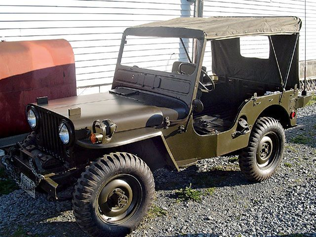 Old Classic Jeep Side View Classic Jeeps Willys Jeep Jeep