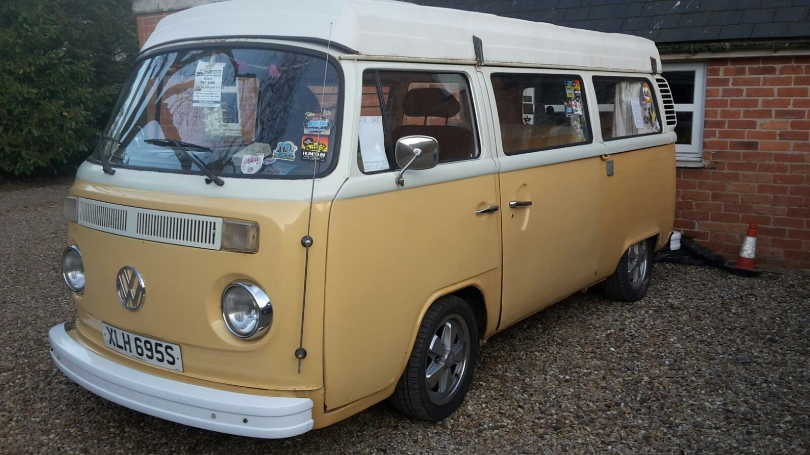 Vw Camper Van T2 1978 Bay 2 L Pop Top Mot June 2018 Ideal Christmas Present
