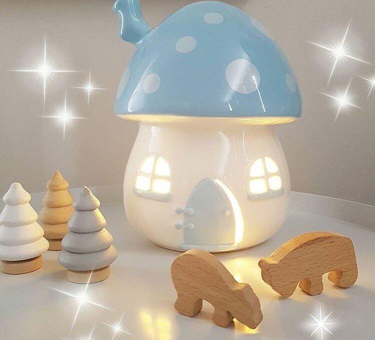 Boys Nightlight By Little Belle Littlebelle Mushroom Newzealand