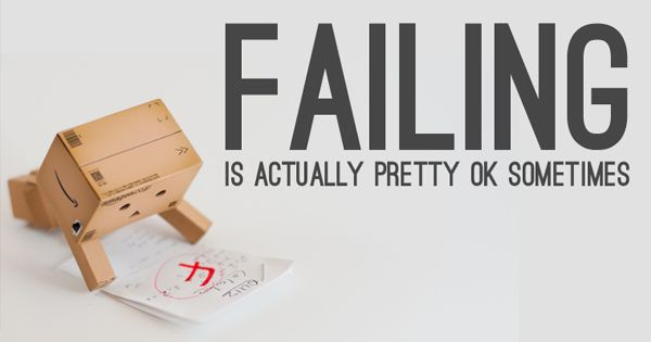 Failure can be either a stumbling-block or a stepping-stone, depending upon our attitude, as we discuss in this helpful blog entry.