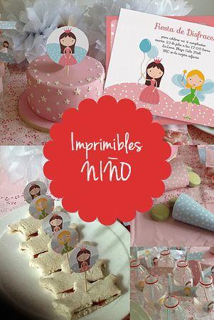 Imprimibles para fiesta infantil Imprimibles e Ideas para fiestas - Ideas Para Fiestas Infantiles