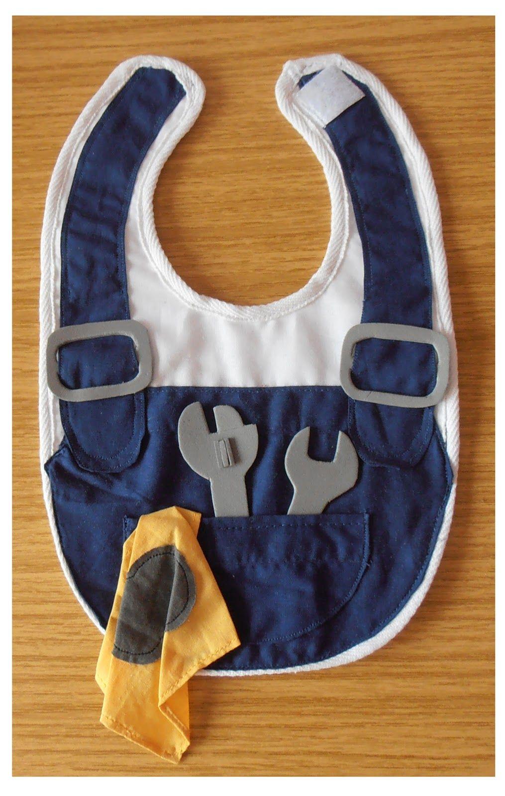 Babero mecánico | dog harness | Pinterest | Lätzchen, Nähen baby und ...