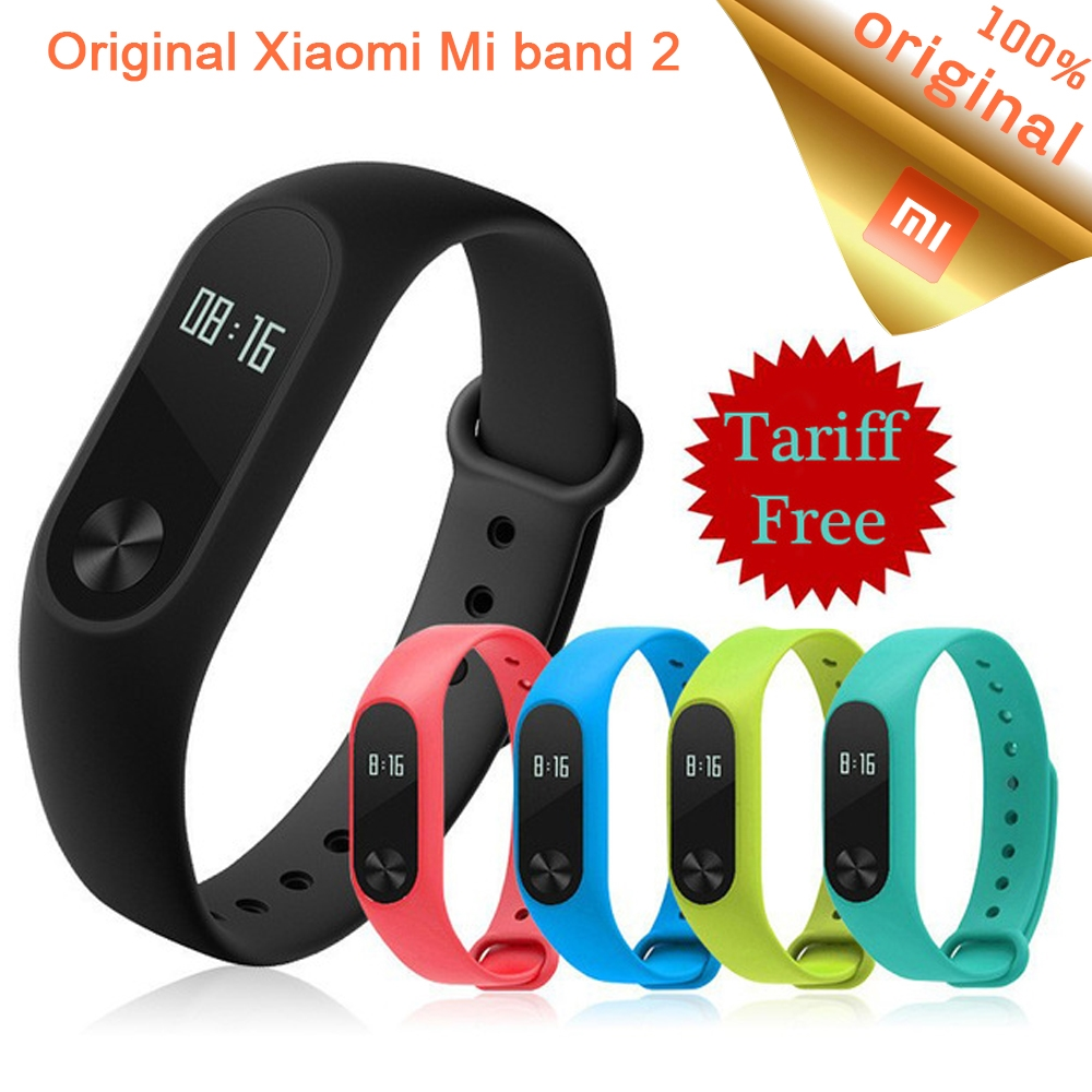 2159 Watch More Here Original Xiaomi Mi Band 2 Smart Wristband Oled Strap Stainless Steel Mijobs Black New Edition Fitness Bracelet