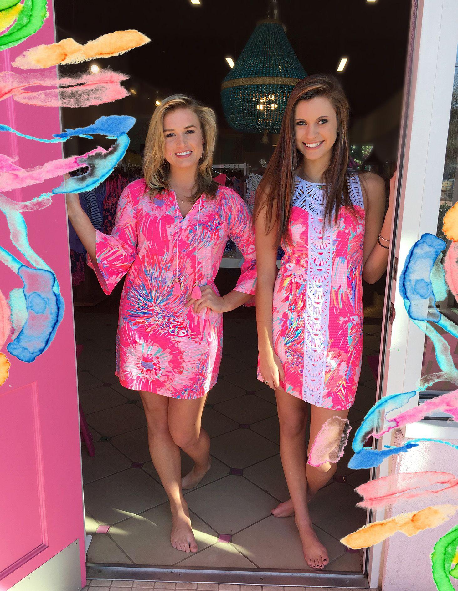 412fa41b8302 Lilly Pulitzer Spring 2017 Never Been Betta Tana Shift $228 Del Lago Tunic  Dress $118