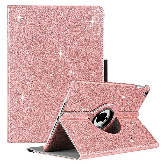 official photos 23467 8f277 Amazon.com: GUAGUA New iPad 2018 9.7 Case iPad 2017 9.7 Case Glitter ...