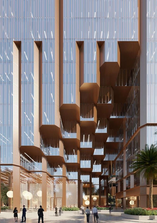 Konka mixed-use | Mecanoo | Archinect