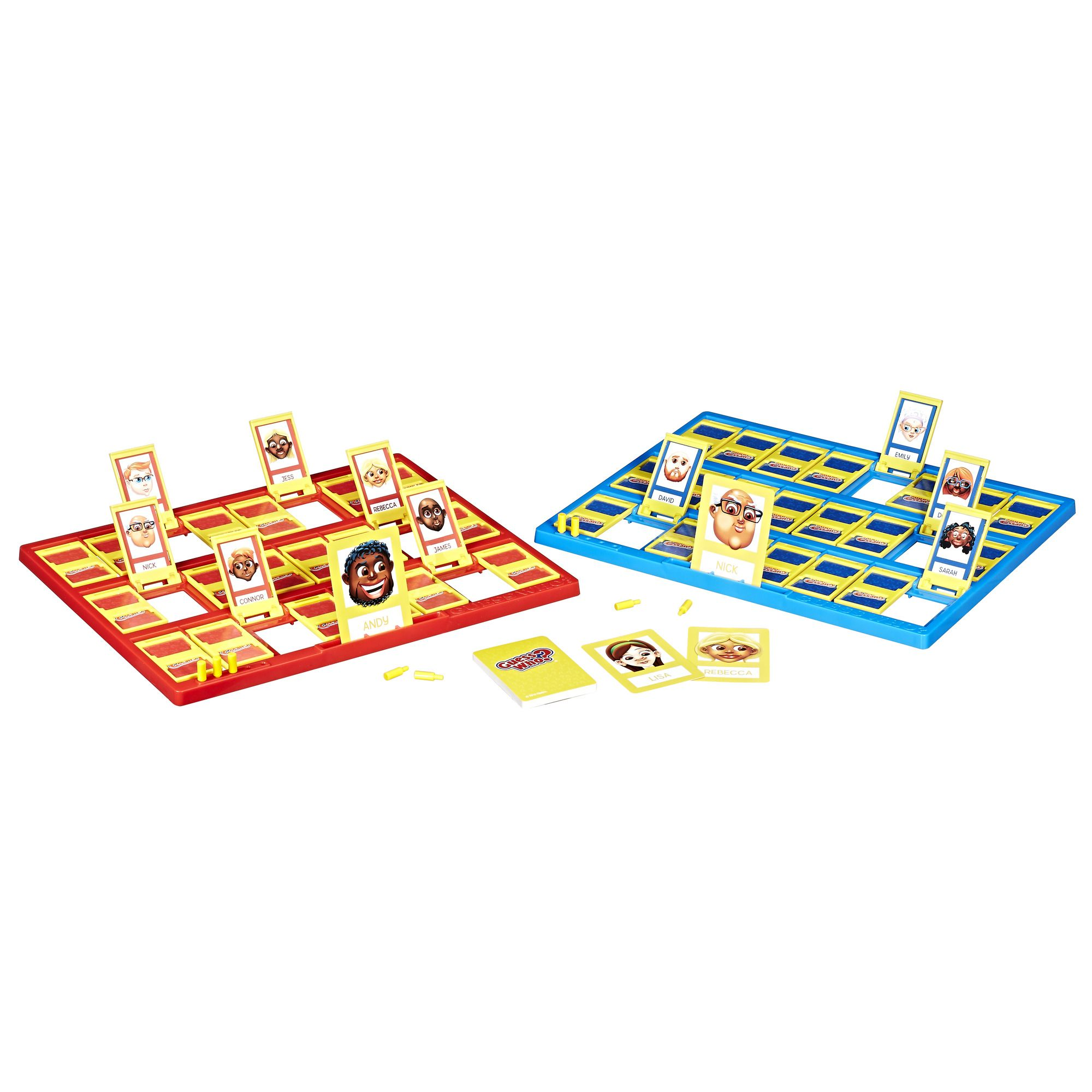 Guess Who? Classic Game, Multicolor | Products | Board game