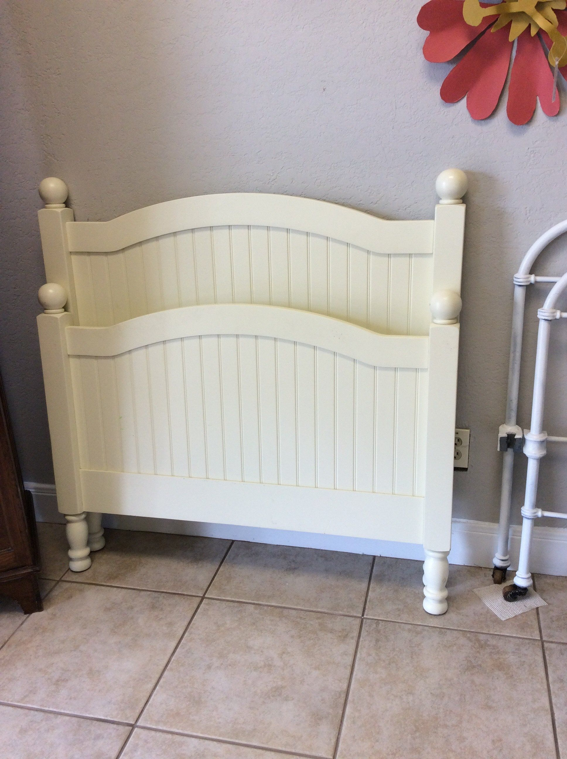 This sweet little bed is from Pottery Barn Kids. All you need is a ...