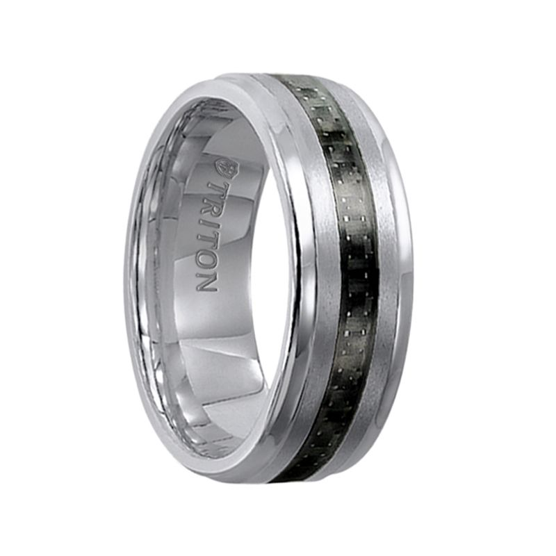 Gabriel Triton Rings Tungsten Mens Rings Tungsten Wedding Bands