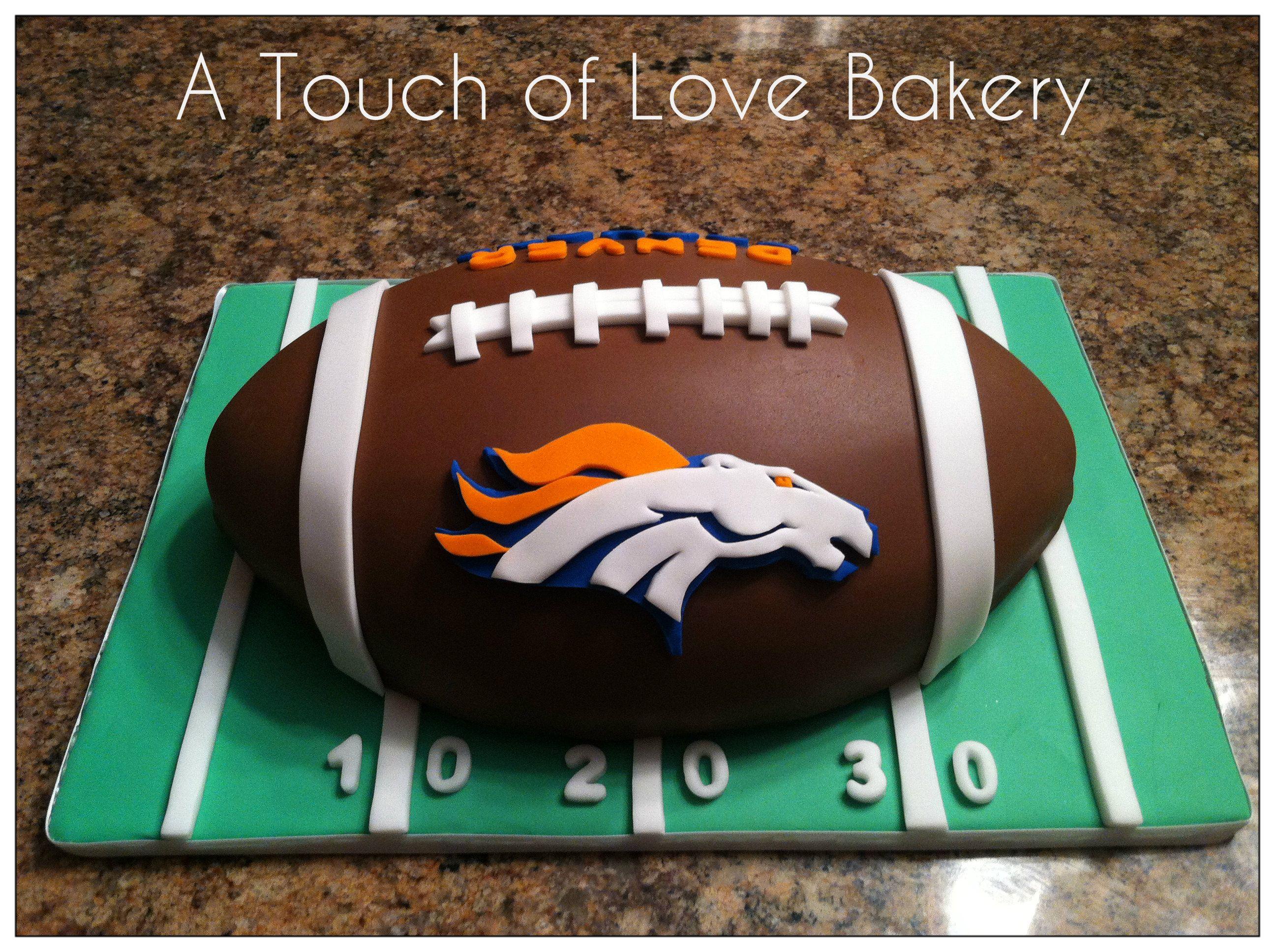 Denver Broncos Football Cake Cake Inspiration In 2018 Pinterest