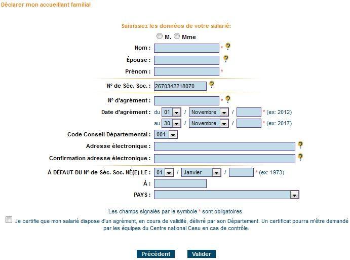 Bienvenue Sur Le Site Du Cheque Emploi Service Universel Conseil Departemental Accueillant Familial Familial