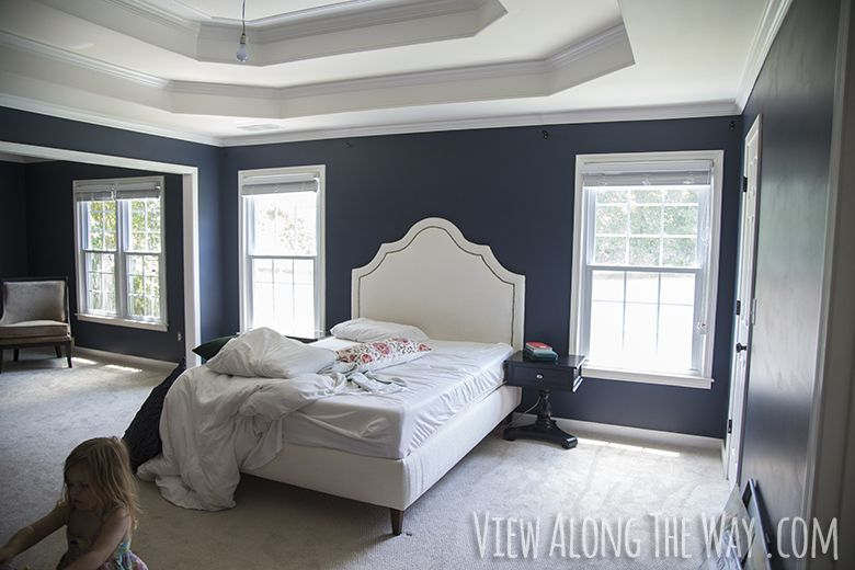 Benjamin Moore Hale Navy Paint I Love This Blog About How Much She Unexpectedly Loved Color