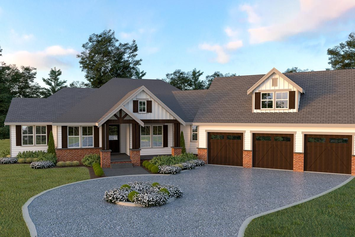 Plan 280031JWD Dreamy 3Bed Country House Plan with a