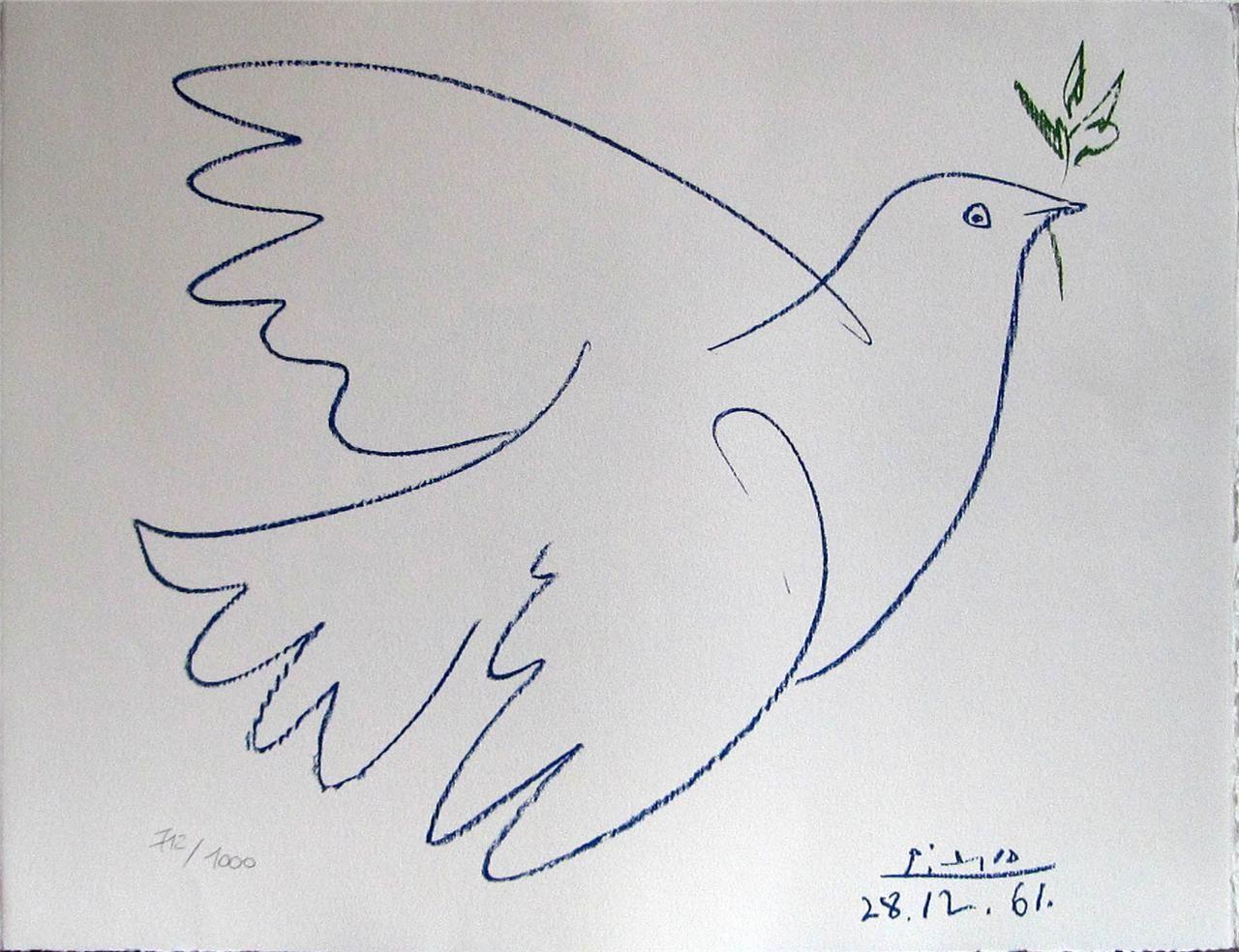 paloma de la paz picasso  Buscar con Google  peace  Pinterest