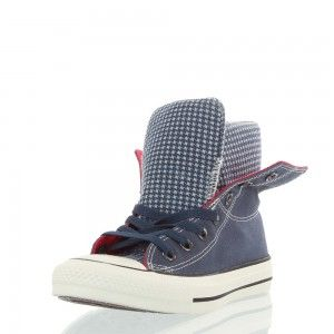 CONVERSE® ALL STAR CHUCKS HI DUAL COL WXD FLEECE P