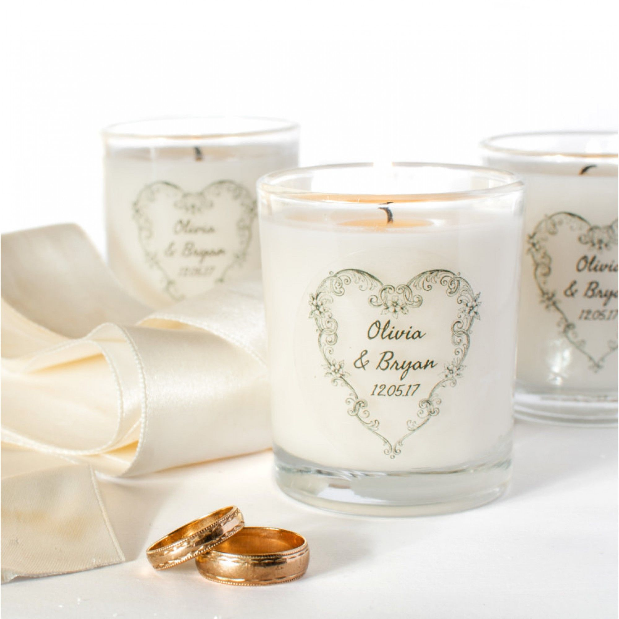 Personalised Wedding Favour Candles In 2020 Candle Wedding Favors Personalized Candle Wedding Favors Wedding Favours Uk