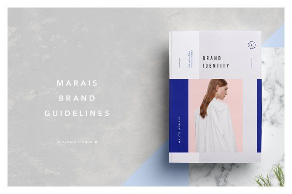 Marais Guidelines \ Brand Sheet by Studio Standard - studio brochure