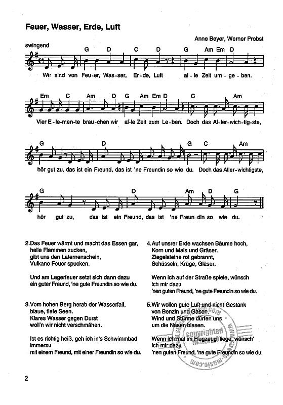 Elemente Instrumente Feuer Wasser Erde Luft Von Anne Beyer Et Al Im Stretta Noten Shop Feuer Wasser Erde Luft Kindergarten Lieder Kindergarten Musik