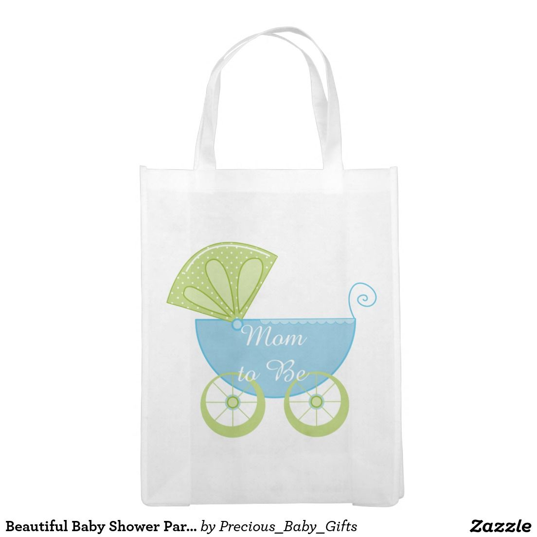 Beautiful Baby Shower Party Bag Grocery Bag