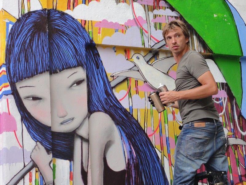 Julien Malland, Seth, Street Artist #Julien #Malland #Seth #Streetart