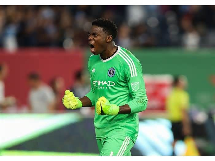 "Interview: NYCFC goalie Sean Johnson talks high-intensity training, the MLS Cup Playoffs, and why goalkeepers love to be 'villains' We're going to compete as hard as we can, and give 100% effort on the field."" Johnson spoke with Men's Fitness about how yoga helps keep him healthy, why his training as a goalkeeper is a little bit weird, and his favorite cheat-day meal. Sean ..."