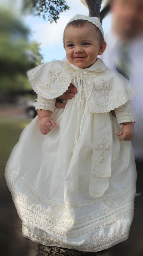 147c3aed5d1 Pope style christening outfit for baby boys