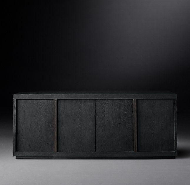 bezier panel 4door sideboard
