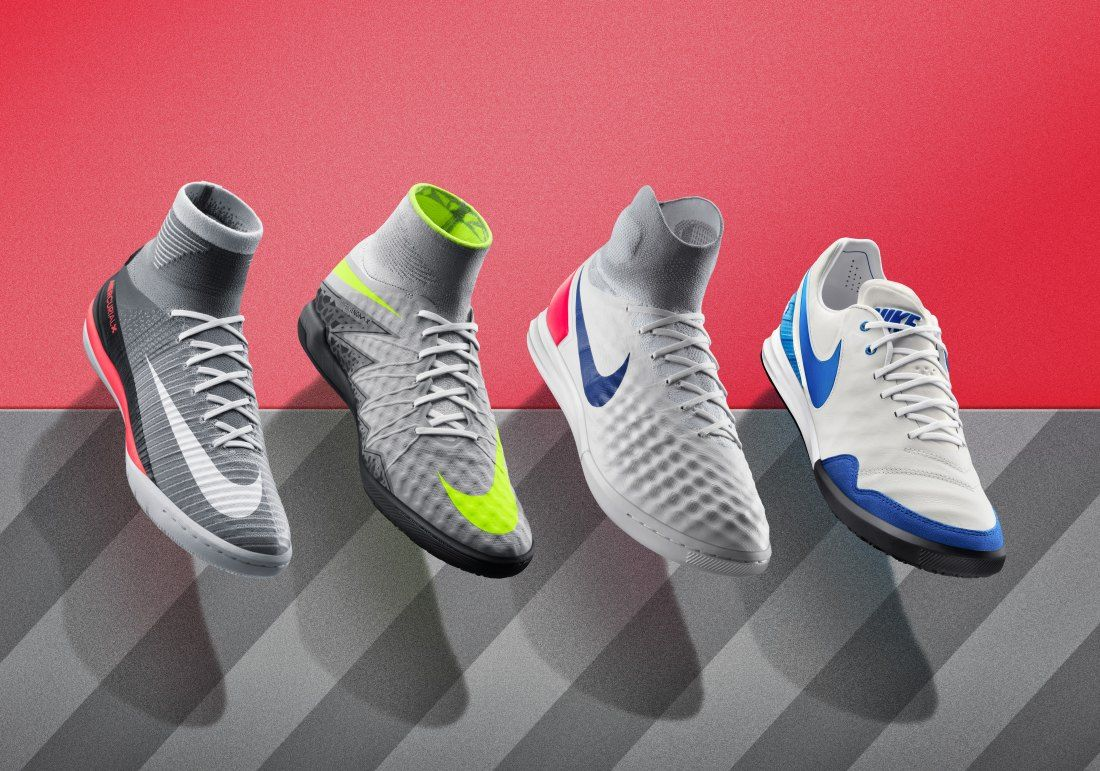 Nuevas Zapatillas De Fútbol Sala Nikefootballx Heritage Pack Air Max Fútbol Emotion Football Boots Sneakers Nike Sneakers