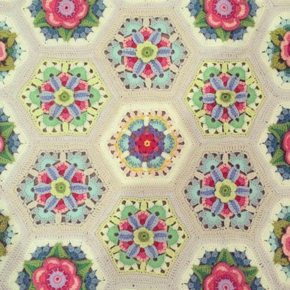 Dorable Fáciles Mil Por Hora Crochet Patrones Afganos Elaboración ...