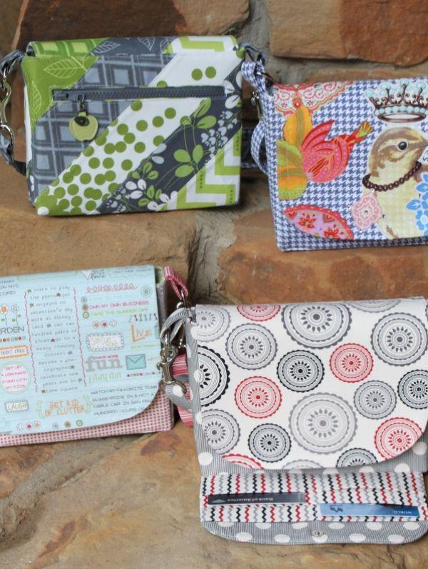 Madison Wallet Bag (Pattern) | Nähen | Pinterest