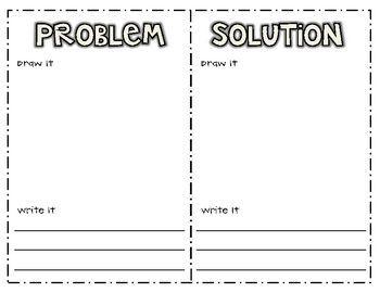 Problem Solution Worksheet For Third Graders Google