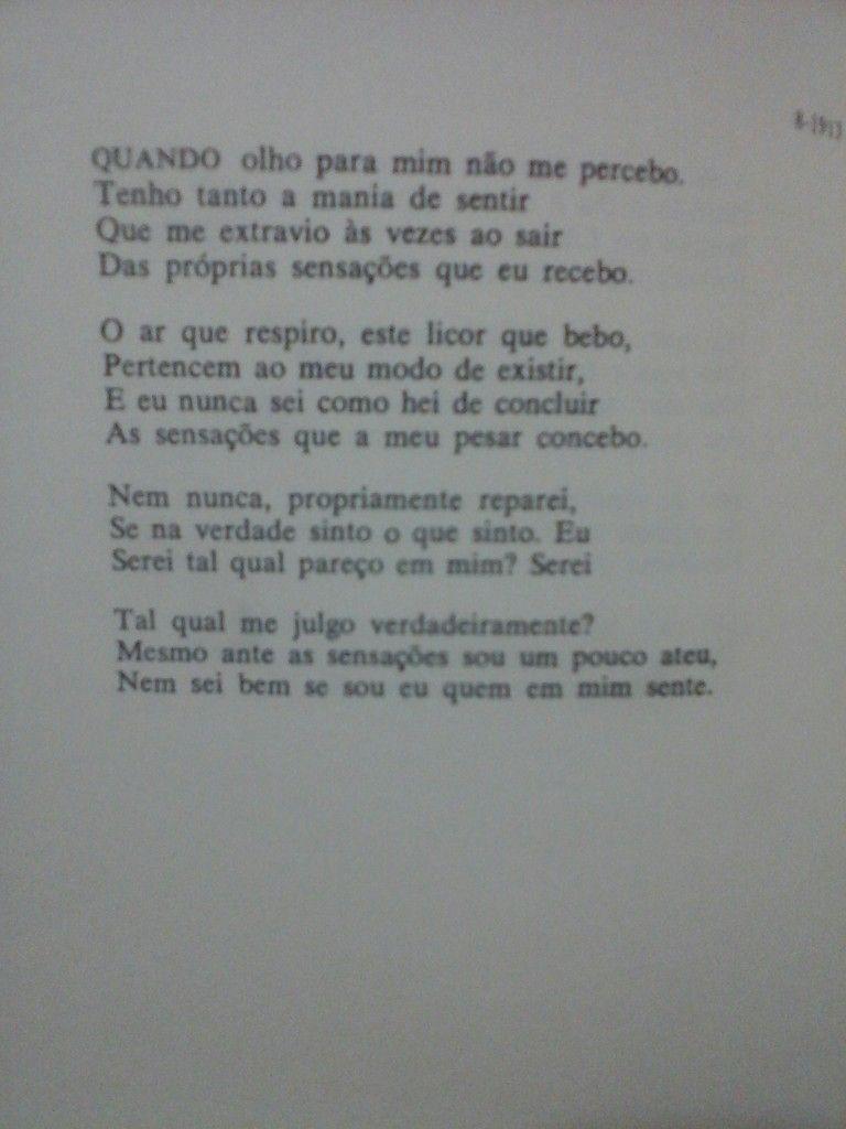 Poema De álvaro De Campos Fernando Pessoa Poems Poetry