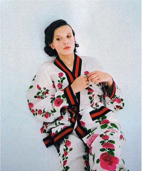 Millie Bobby Brown For L Officiel Magazine 2017 Millie Bobby Brown Bobby Brown Millie