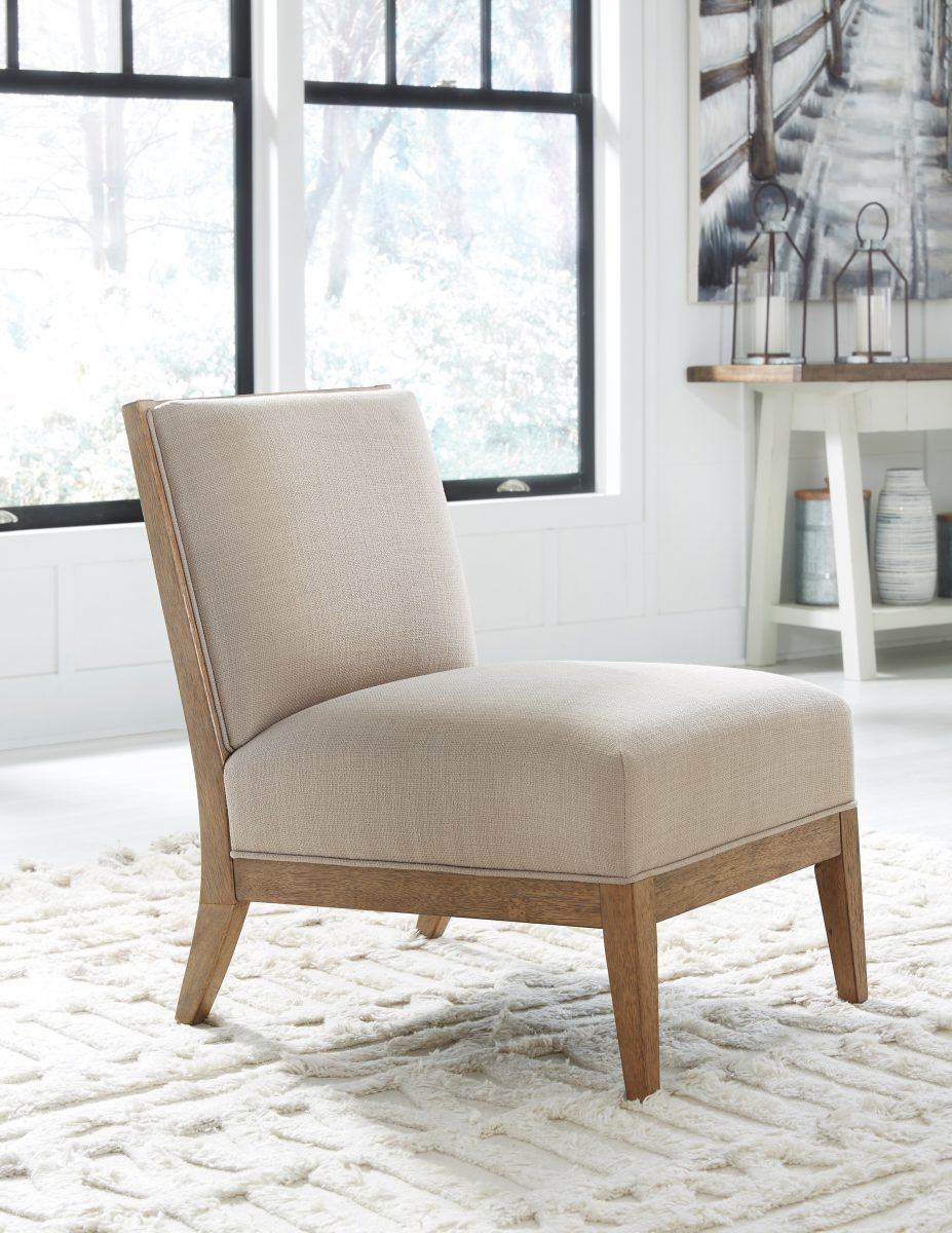 Ashley Novelda Accent Chair In Neutral Accent Chairs Accent