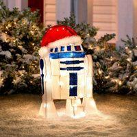 star wars christmas decoration let r2d2 light up your christmas yard display - Star Wars Christmas Yard Decorations