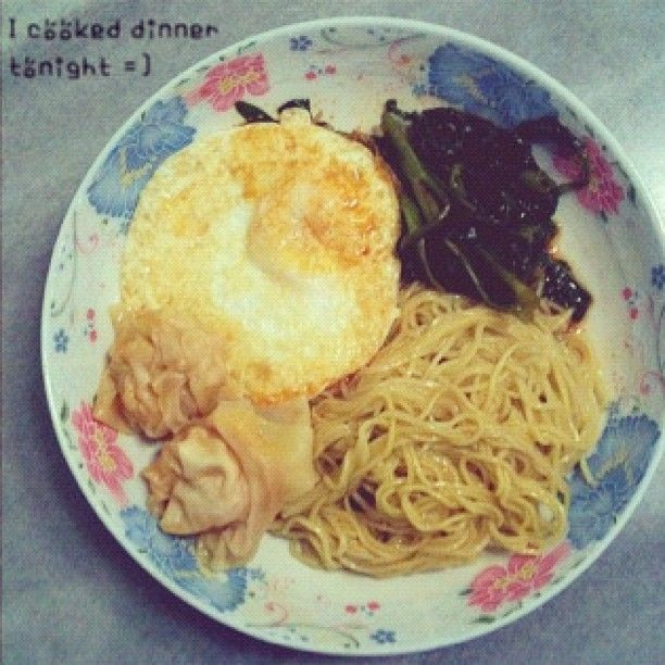 Haven\'t cooked for ages.