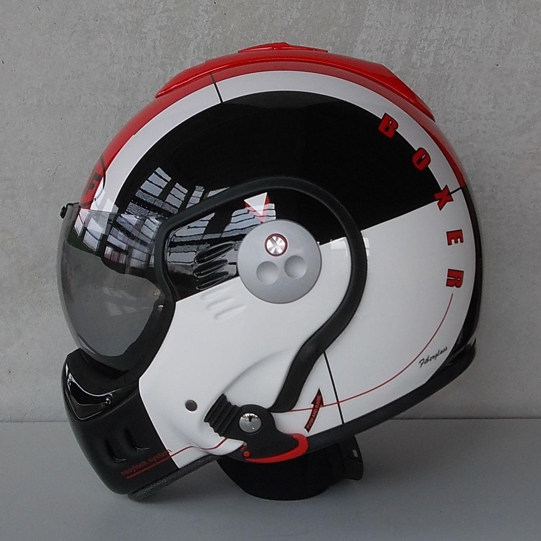 Roof Boxer Helmet Review Carros E Motas Helmet Cool