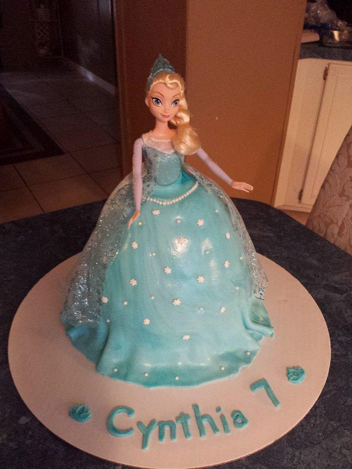 Frozen Elsa Doll Cake MariaFelix Cakes Pinterest Elsa doll
