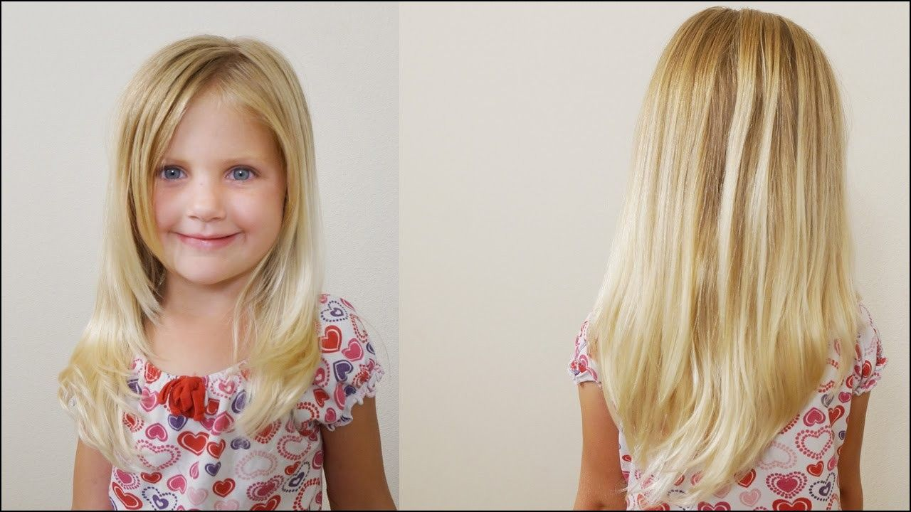 Little girl haircuts with layers littlegirlhaircuts younger